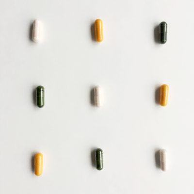 different coloured supplements